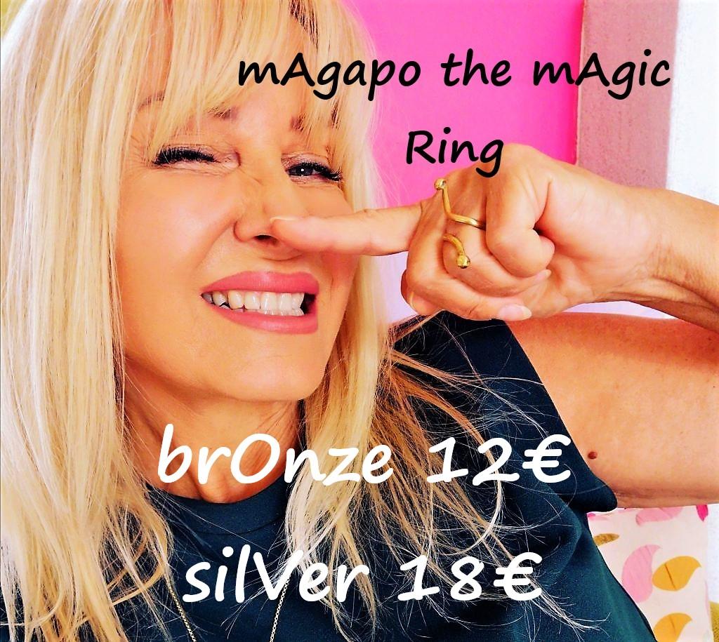 Μ΄Αγαπώ is a magic ring
